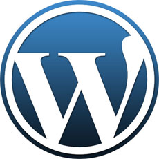 start your own blog - wordpress logo